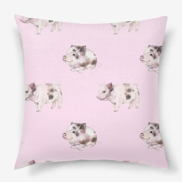 Подушка «хрюши розовые»