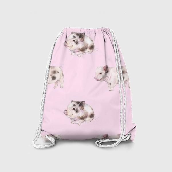 Рюкзак «хрюши розовые»