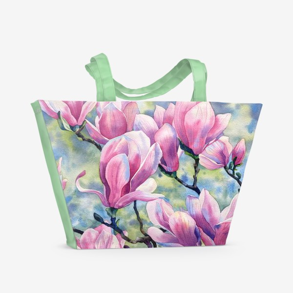 Пляжная сумка «Магнолия»