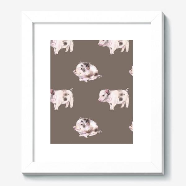 Картина «хрюшки в шоколаде»