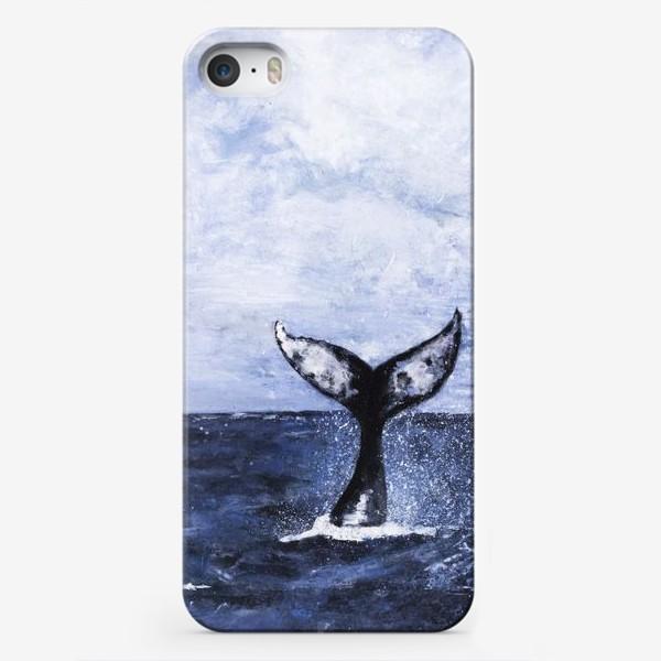 Чехол iPhone «Хвост кита»