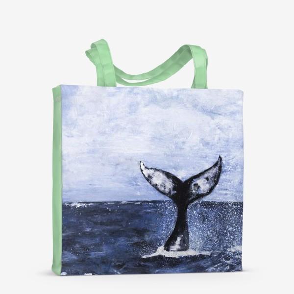 Сумка-шоппер «Хвост кита»