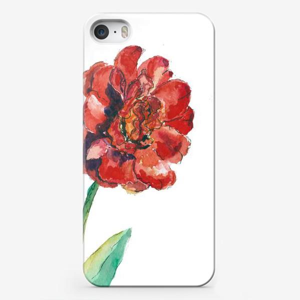 Чехол iPhone «Махровый тюльпан»