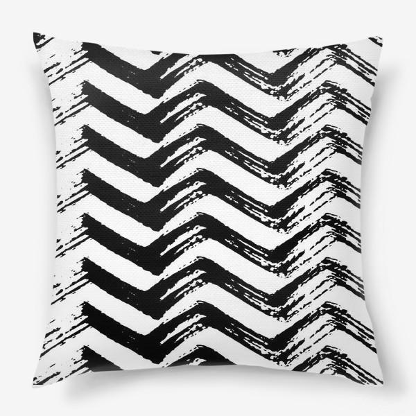 Подушка «Зигзаги»