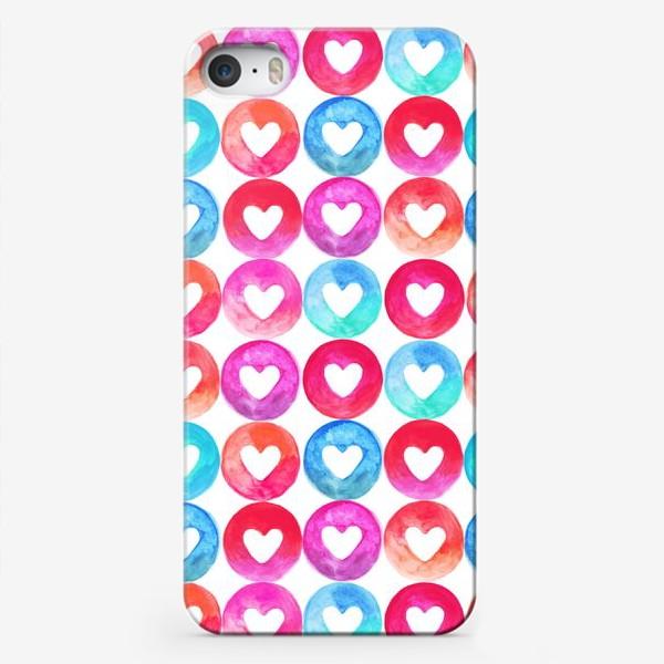 Чехол iPhone «Heart pattern»