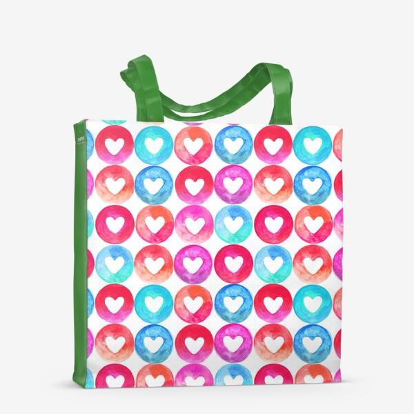 Сумка-шоппер «Heart pattern»