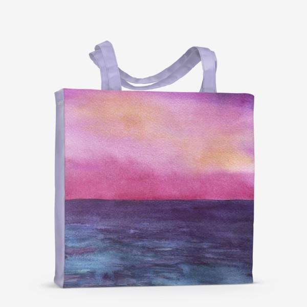 Сумка-шоппер «рассвет на море»