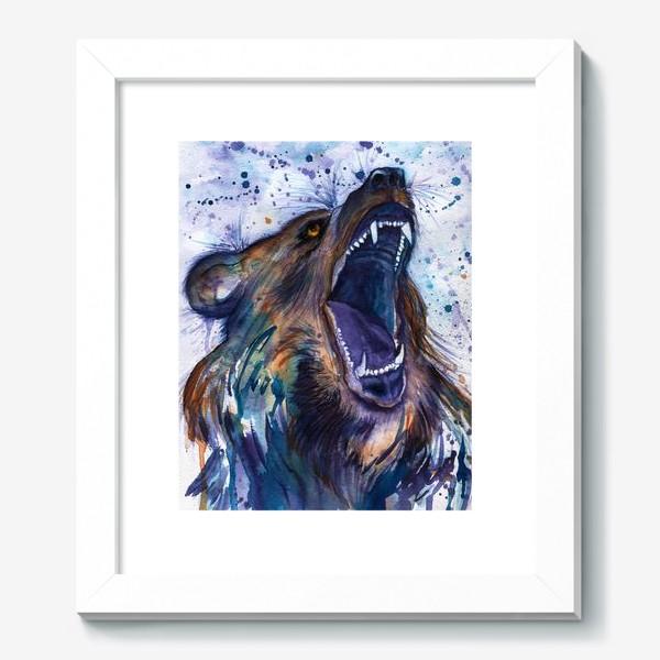 Картина «Ярость медведя»