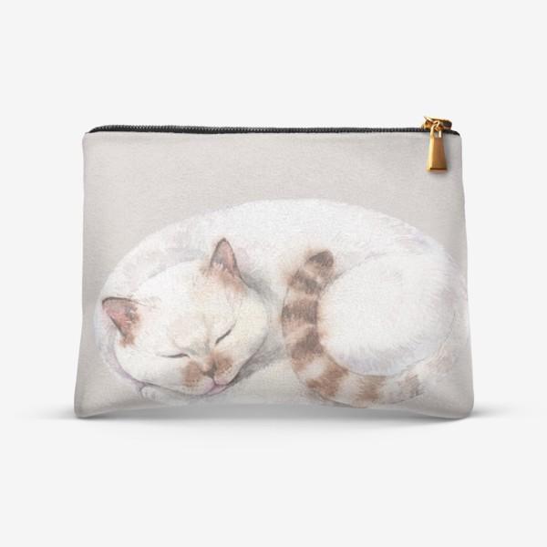 Косметичка «котя белый»