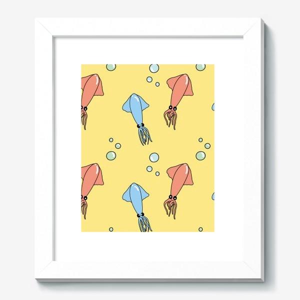 Картина «Паттерн с кальмарами»