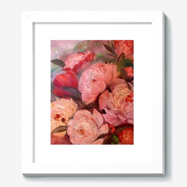 Картина «Розовые пионы»