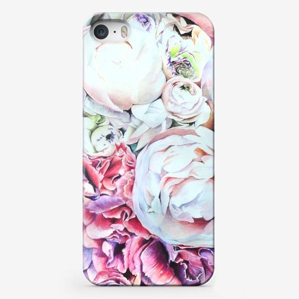 Чехол iPhone «Пионы»