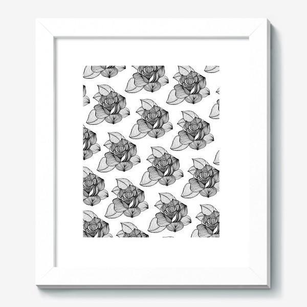 Картина «Black roses»