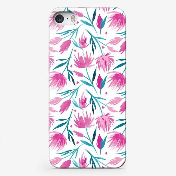 Чехол iPhone «Цветочный паттерн»