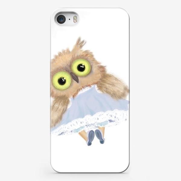 Чехол iPhone «Совушечка»