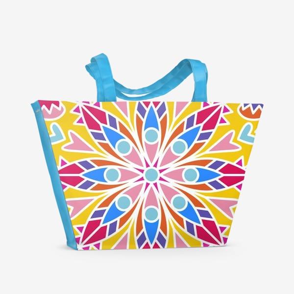 Пляжная сумка «Мандала»