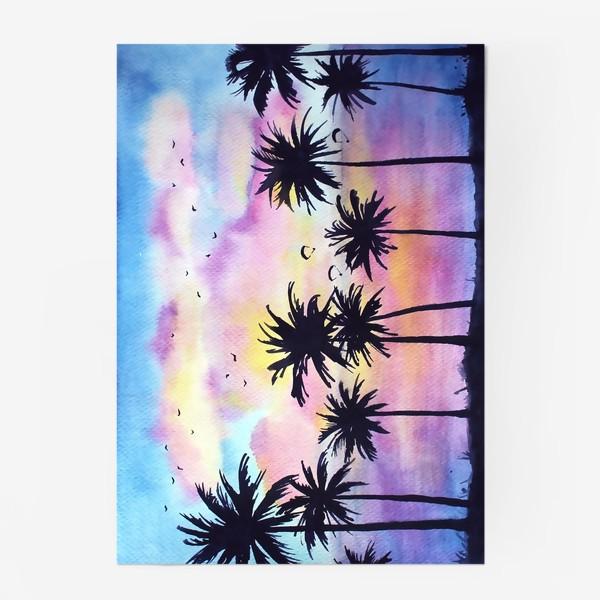 Постер «Тропический закат»