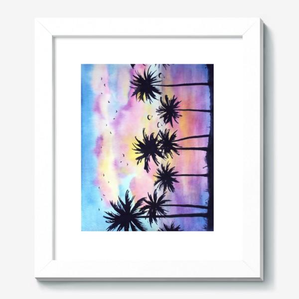 Картина «Тропический закат»