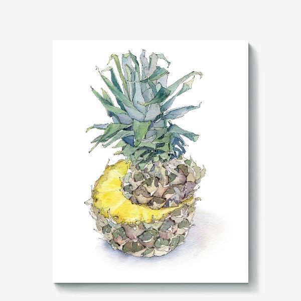 Холст «Pineapple»