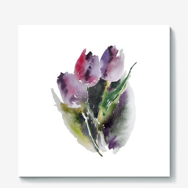 Холст «тюльпаны»
