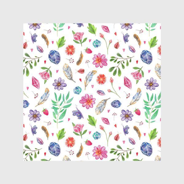 Скатерть «watercolor boho pattern»