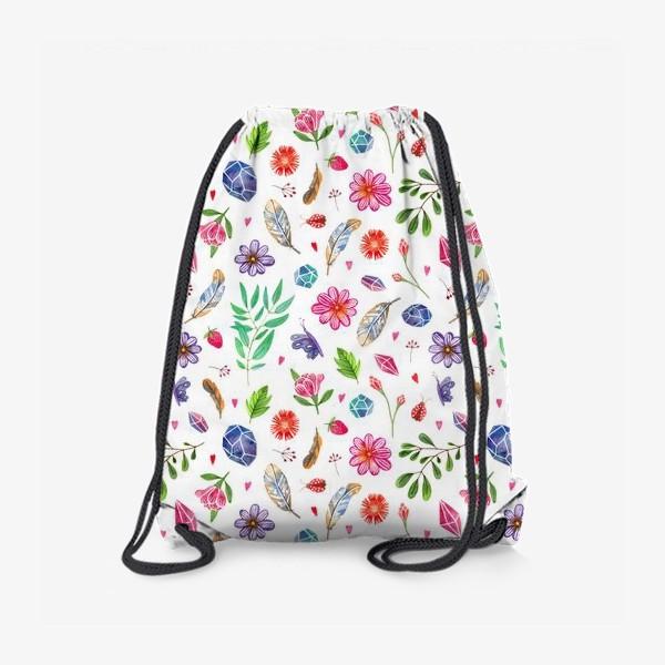 Рюкзак «watercolor boho pattern»