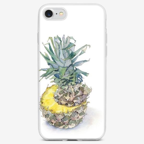 Чехол iPhone «Pineapple»