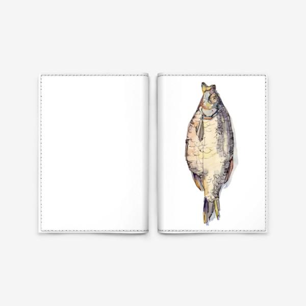 Обложка для паспорта «Big Fish»