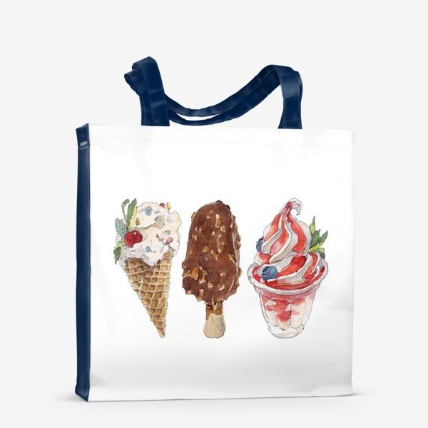 Сумка-шоппер «IceCream»