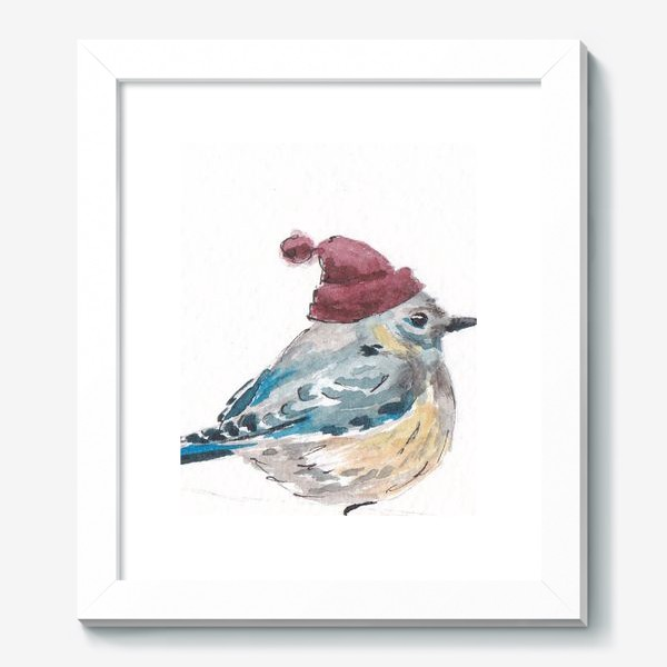 Картина «Птица в шапке»