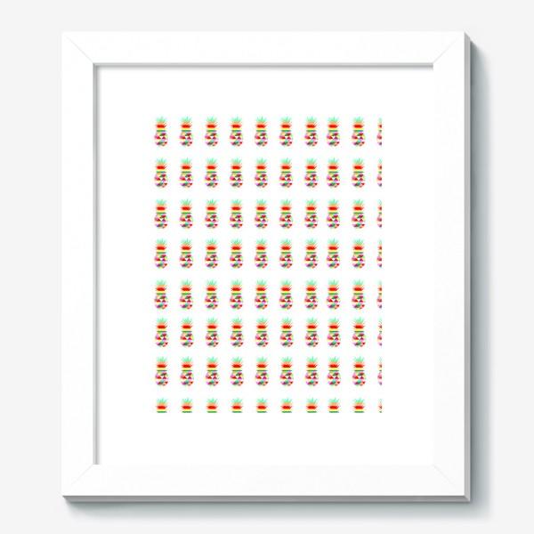 Картина «ананасовый паттерн»