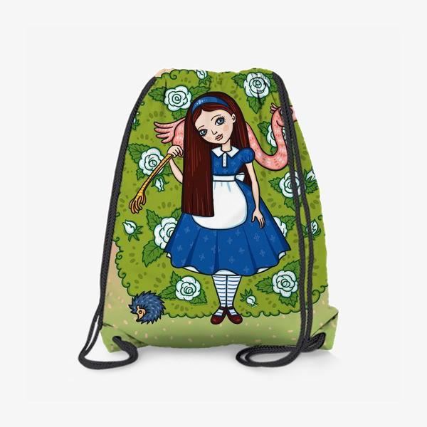 Рюкзак «Алиса в стране чудес.»