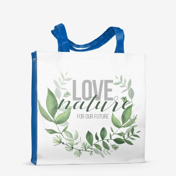 Сумка-шоппер «Lovenature»