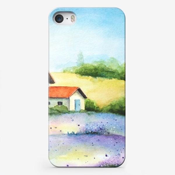 Чехол iPhone «Провинциальный пейзаж»