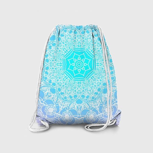Рюкзак «Яркая мандала»