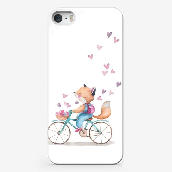 Чехол iPhone «лисья любовь2»