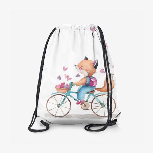 Рюкзак «лисья любовь2»