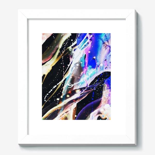 Картина «Акварельный фон с брызгами краски»