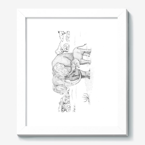 Картина «Слоны»