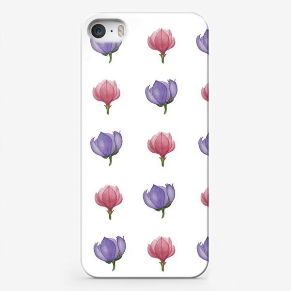 Чехол iPhone «розовый фетр»
