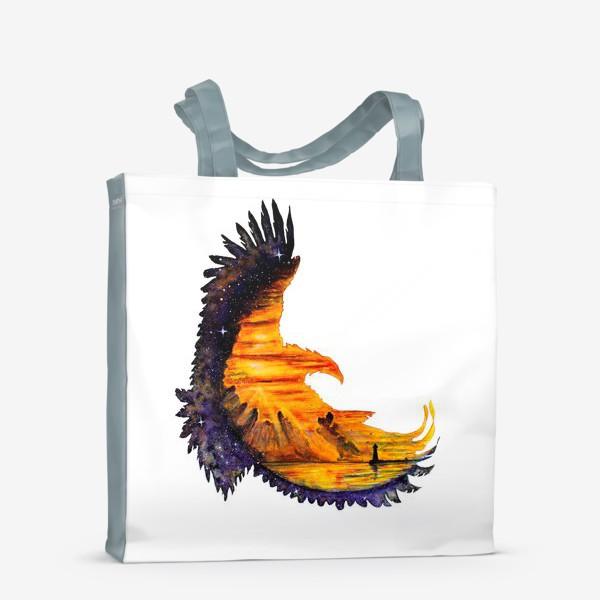 Сумка-шоппер «Орел и звезды»