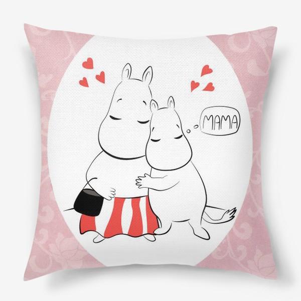 Подушка «Мумимама»