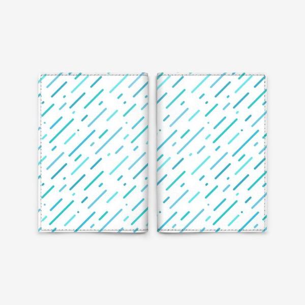 Обложка для паспорта «Дождь»