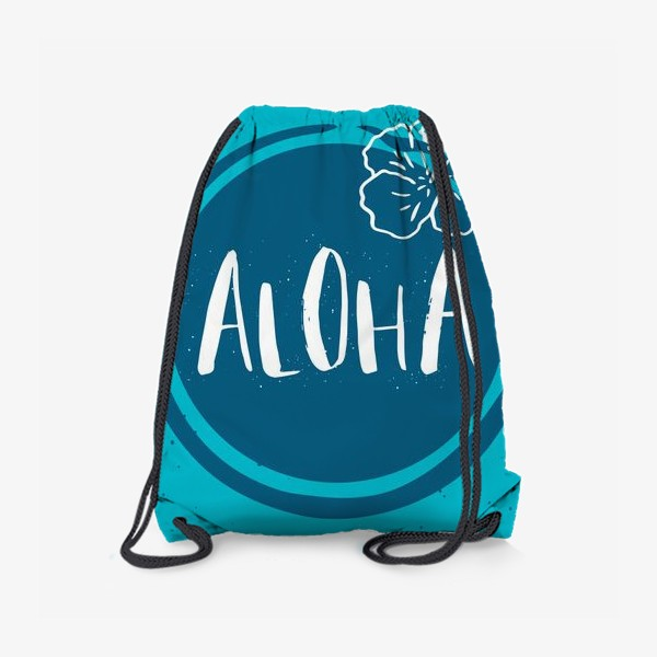 Рюкзак «Гавайские мотивы. Леттеринг»