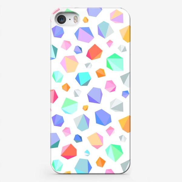 Чехол iPhone «Кристаллы»