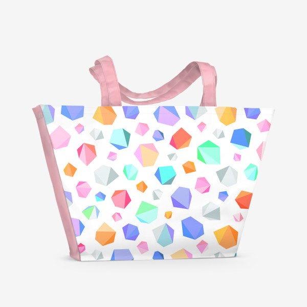 Пляжная сумка «Кристаллы»