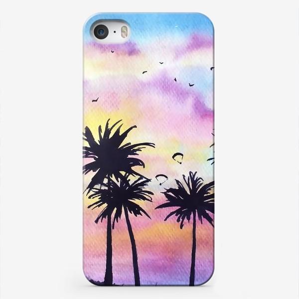 Чехол iPhone «Тропический закат»