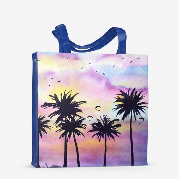 Сумка-шоппер «Тропический закат»