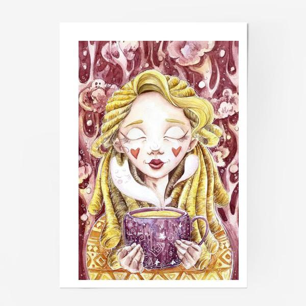 Постер «Чаепитие в лесу»