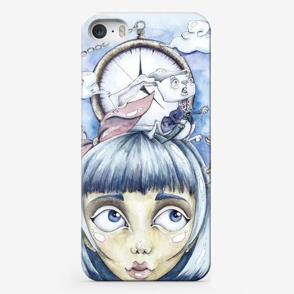 Чехол iPhone «встреча с белым кроликом»